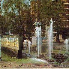Cartoline: MAGNIFICA POSTAL FUENTE HOMENAJE AL LABRADOR PLAZA FADRELL DE CASTELLON. Lote 54015601