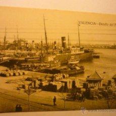 Postales: POSTAL VALENCIA-DETALLE DEL PUERTO BB. Lote 54060808