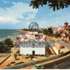 Cartoline: MAGNIFICA POSTAL ORIGINAL HOTEL VORAMAR Y PLAYAS DE LAS VILLAS DE BENICASIM CASTELLON. Lote 54169998