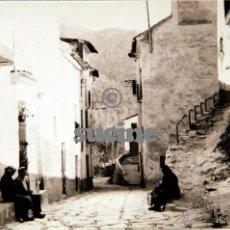 Postales: MAGNIFICA POSTAL ORIGINAL CALLE GENERALISIMO MONTAN CASTELLON. Lote 54307360