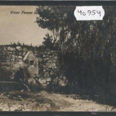 Postales: VIVER - FUENTE - FOTOGRAFICA - (40954). Lote 54328491