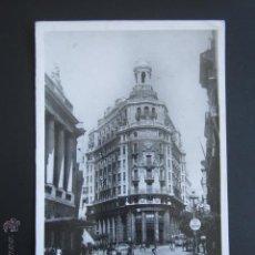 Postales: POSTAL VALENCIA. CALLE DE LAS BARCAS, BANCO DE VALENCIA. . Lote 54491274