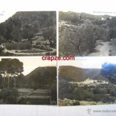 Postales: VALENCIA: MONASTERIO PORTA-COELI: LOTE 4 POSTALES ORIGINALES. Lote 54631572
