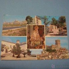 Postales: POSTAL DE VILLENA. 1966. NUESTRA SEÑORA DE LAS VIRTUDES. PATRONA DE VILLENA. PAISAJES.. Lote 54731377