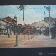 Postales: POSTAL ALICANTE. PARQUE DE CANALEJAS. . Lote 54744350