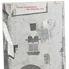 Postales: PS5870 VINAROZ 'FIESTAS CENTENARIAS DE S. SEBASTIÁN 1910 - ANTIGUA CASA CAPITULAR'. HORMIGA DE ORO. Lote 51539896