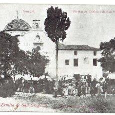 Postales: PS5872 VINAROZ 'FIESTAS CENTENARIAS DE S. SEBASTIÁN 1910 - ERMITA DE S. GREGORIO'. Lote 51540088