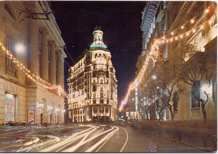 Valencia calle barcas de noche en el teatro pr vendido for Teatro principal valencia