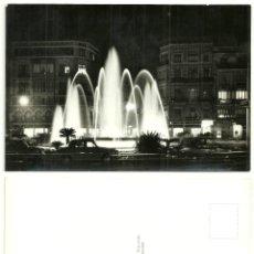 Postales: POSTAL DE VALENCIA (PLAZA REINA. NOCTURNA). Lote 54908650