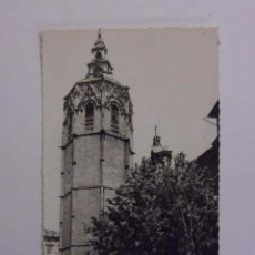 Postales: BONITA FOTO POSTAL. B/N. VALENCIA TORRE DE MIGUELETE. EDC JDP. ESCRITA. Lote 54930876