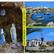 Postales: Nº 6988 ISLA DE TABARCA, ALICANTE. DIVERSOS ASPECTOS. EDICIONES BEASCOA. COMERCIAL VIPA.. Lote 54950794
