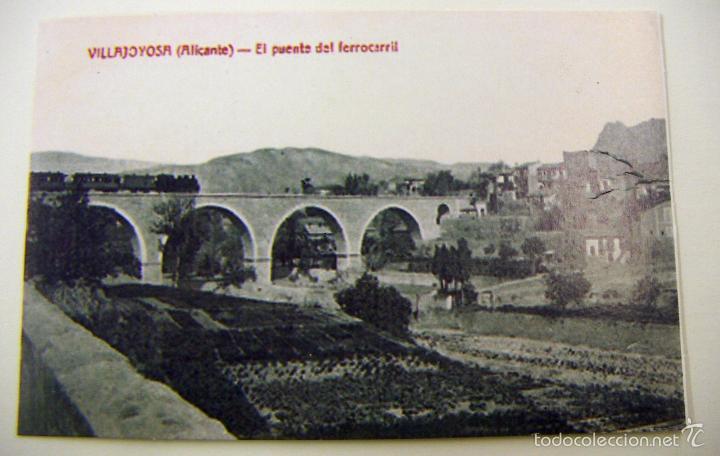 POSTAL DE VILLAJOYOSA (Postales - España - Comunidad Valenciana Antigua (hasta 1939))