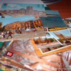 Postales: LOTE DE 22 POSTALES DE VALENCIA. AÑOS 60 A 70. Lote 55151496
