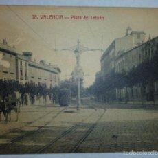 Postales: VALENCIA .- PLAZA DE TETUAN.. Lote 55388701