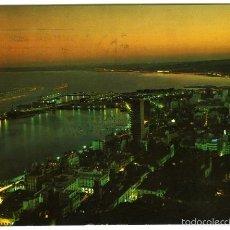 Postales - Nº 2068 Alicante. Vista Parcial (Nocturna). Ediciones Arribas Zaragoza. - 55401474