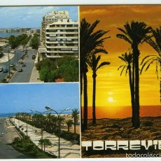 Postales: Nº 569 TORREVIEJA, ALICANTE. DIVERSOS ASPECTOS. COMERCIAL VIPA. . Lote 55409895