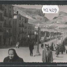 Postales: ALCOY - 13 - CALLE SANTO TOMAS - HNOS GALIANA CALLOSA DE ENSARRIA - (42429). Lote 55570244