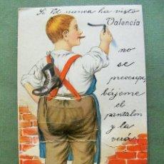 Postales: POSTAL ANIMADA VALENCIA-SI UD.NO HA VISTO VALENCIA, BAJEME EL PANTALÓN!. Lote 56144788