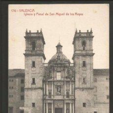 Postales: VALENCIA - IGLESIA Y PENAL DE SAN MIGUEL DE LOS REYES - 176 - THOMAS. Lote 56395674