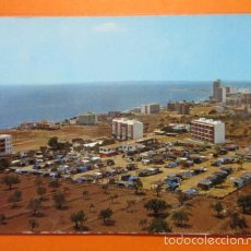 Postales: POSTAL - ALICANTE - SANTA POLA CAMPING MONTE MAR BOCHIOT VISTA AEREA - E Y G AYALA - NO CIRCULADA . Lote 56553466