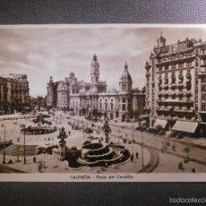 Postales: POSTAL - ESPAÑA - VALENCIA - PLAZA DEL CAUDILLO - EDITOR M. ARRIBAS - NUEVA - SIN CIRCULAR -. Lote 56748919