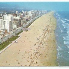 Postales: POSTAL GANDIA - VISTA AEREA DE LA PLAYA - SUBIRATS 1976. Lote 56802135