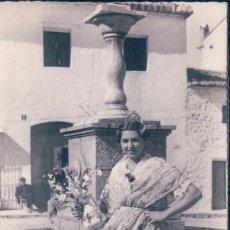 Postales: POSTAL 181. VALENCIA.LABRADORA VALENCIANA EN TRAJE DE FIESTA.. Lote 56891221