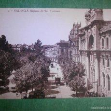 Postales: POSTAL - ESPAÑA - VALENCIA - 2 VALENCIA SAGRARIO DE SAN FRANCISCO - JOSÉ DURÁ - SIN ESCRIBIR . Lote 57142561