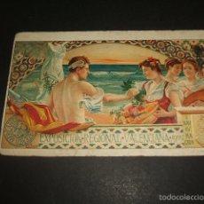 Postales: VALENCIA EXPOSICION REGIONAL VALENCIANA 1909 POSTAL CROMOLITOGRAFICA. Lote 57159995