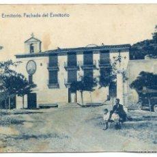 Postales: ONDA, CASTELLÓN DE LA PLANA, ERMITORIO. FACHADA DEL ERMITORIO. FOTOTIPIA THOMAS. Lote 57273905