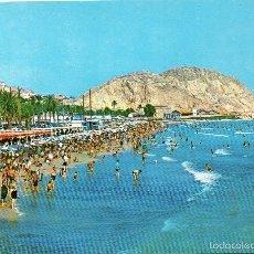 Postales - Alicante - 129 Playa Postiguet - 57697330