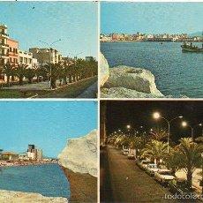 Postales: VINAROZ - 8 PASEO, PUERTO Y PLAYA. Lote 57726082