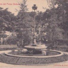 Postales: P- 5936. POSTAL ALCOY, PARTERRE DEL PINTOR GISBERT. LIBRERIA JOSE LLORENS Y PERICOS.. Lote 57761966