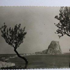 Postales: P-5945. CALPE (ALICANTE). PEÑON DE IFACH. AÑOS CINCUENTA. SIN CIRCULAR. GARCIA GARRABELLA.. Lote 57817720