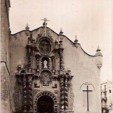Postales: ANTIGUA POSTAL 16 VINAROZ IGLESIA ARCIPESTRAL ED T MIRALLES ESCRITA 1956. Lote 57981663