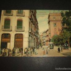 Postales: VALENCIA CALLE DE CABALLEROS Y AUDIENCIA. Lote 58092923