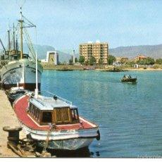 Postales: GANDIA-PUERTO -BARCOS-AÑOS 60. Lote 58136758