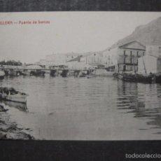 Postales: CULLERA - PUENTE DE BARCAS - EDICION JOSE ROGER - VER REVERSO - (44.473). Lote 58302215