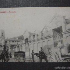 Postales: CULLERA - MERCADO - EDICION JOSE ROGER - VER REVERSO - (44.474). Lote 58302220