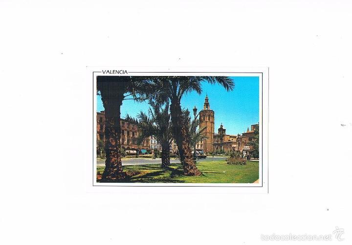POSTAL ANTIGUA VALENCIA SIN CIRCULAR PLAZA DE ZARAGOZA DETALLE AL FONDO EL MIGUELETE (Postales - España - Comunidad Valenciana Moderna (desde 1940))