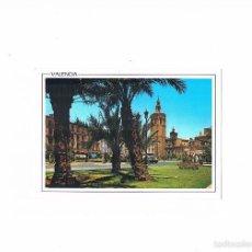 Postales: POSTAL ANTIGUA VALENCIA SIN CIRCULAR PLAZA DE ZARAGOZA DETALLE AL FONDO EL MIGUELETE. Lote 58625390