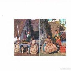 Postales: POSTAL ANTIGUA VALENCIA SIN CIRCULAR TRAJES TIPICOS. Lote 58626215