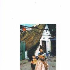 Postales: POSTAL ANTIGUA VALENCIA SIN CIRCULAR NIÑOS CON TRAJE TIPICO. Lote 58646447