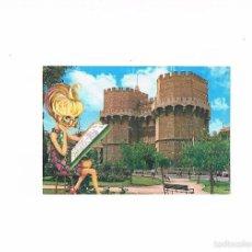 Postales: POSTAL ANTIGUA VALENCIA CIRCULADA TORRES DE SERRANOS. Lote 58646816