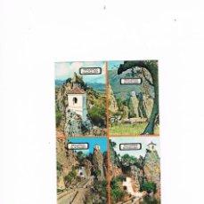 Postales: POSTAL ANTIGUA ALICANTE SIN CIRCULAR CASTELL DE GUADALEST. Lote 58652375