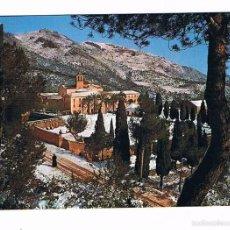 Postales: POSTAL ANTIGUA CASTELLON SIN CIRCULAR BENICASIM DESIERTO DE LAS PALMAS VISTA GENERAL. Lote 58670033