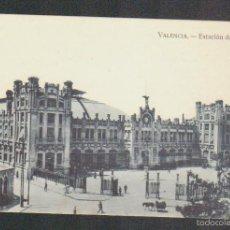 Postales: VALENCIA.ESTACIÓN DEL NORTE.EDITA JDP.SIN CIRCULAR.. Lote 59204845