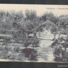 Postales: VALENCIA.VIVEROS: ROSALEDA.EDITA JDP.SIN CIRCULAR.. Lote 59206180