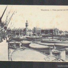 Postales: VALENCIA.VISTA PARCIAL DEL PUERTO.EDITA JDP.SIN CIRCULAR.. Lote 59206490