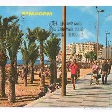 Postales: BENIDORM. ALICANTE. CIRCULADA SIN SELLO. Lote 60026251